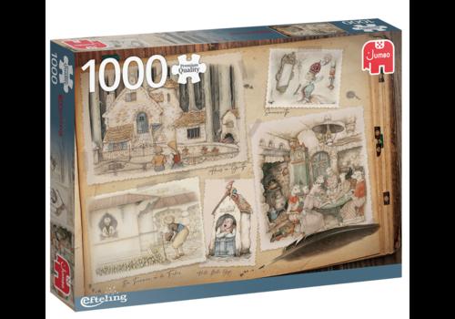 Jumbo De Efteling - Anton Pieck - 1000 stukjes