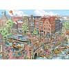 Ravensburger Amsterdam - Fleroux - puzzel van 1000 stukjes
