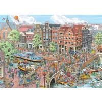 thumb-Amsterdam - Fleroux - puzzel van 1000 stukjes-1