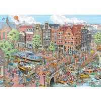 thumb-Amsterdam - Fleroux - puzzle of 1000 pieces-1