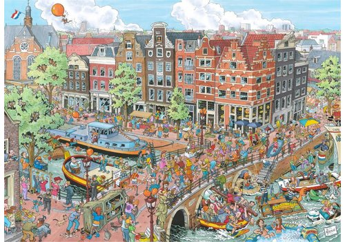 Amsterdam - Fleroux - 1000 pieces