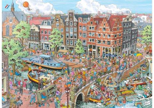 Ravensburger Amsterdam - Fleroux - 1000 stukjes