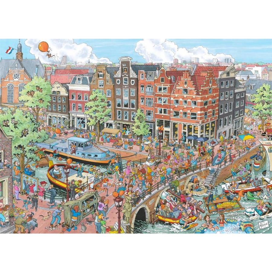 Amsterdam - Fleroux - puzzel van 1000 stukjes-1