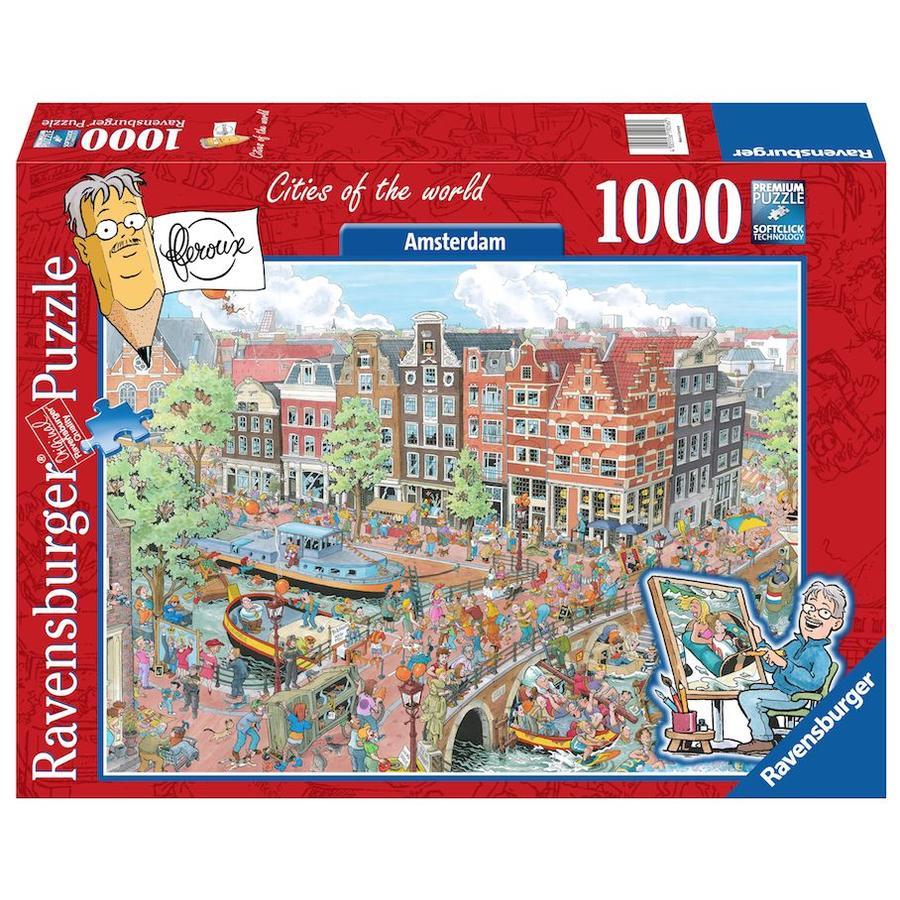 Amsterdam - Fleroux - puzzel van 1000 stukjes-2
