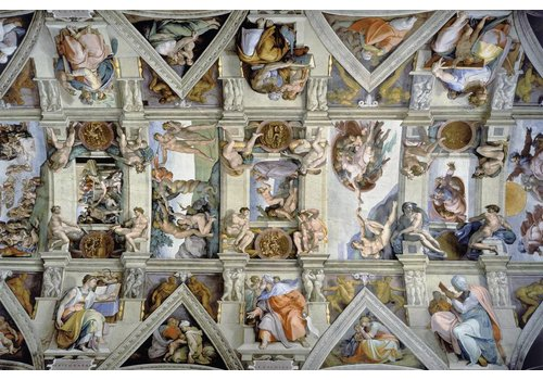 De Sixtijnse Kapel - 5000 stukjes