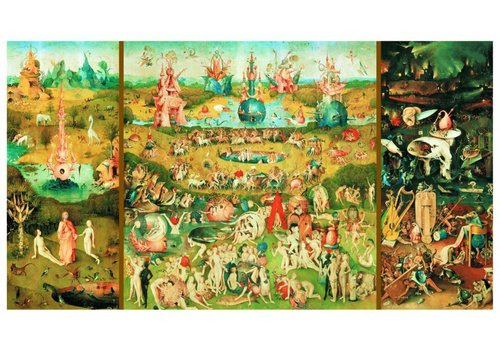 De Tuin der Lusten - 9000 stukjes