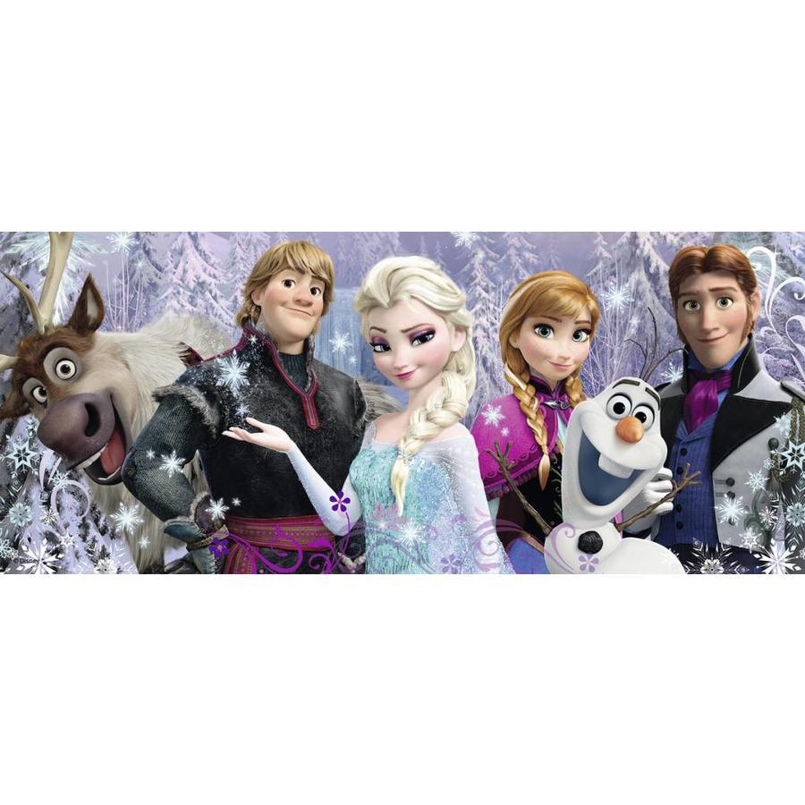 Frozen in panorama - 200 XXL stukjes-1