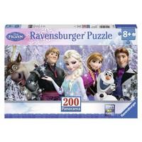 thumb-Frozen in panorama - 200 XXL stukjes-2