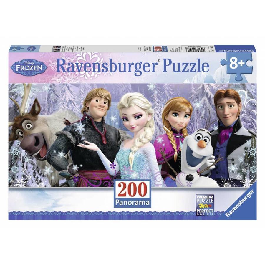 Frozen in panorama - 200 XXL stukjes-2