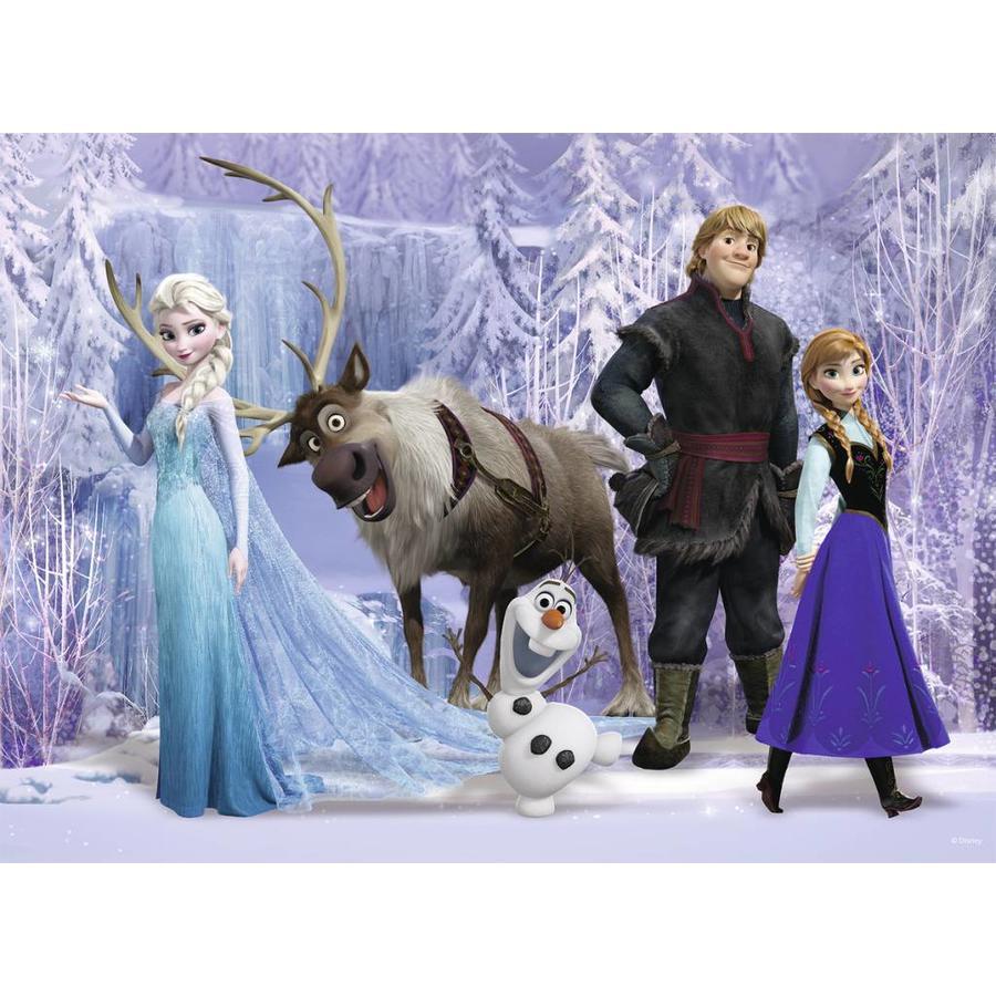Frozen : Le royaume d'Elsa - puzzle de 100 pièces-1