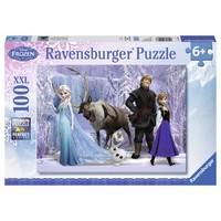 thumb-Frozen : Le royaume d'Elsa - puzzle de 100 pièces-2
