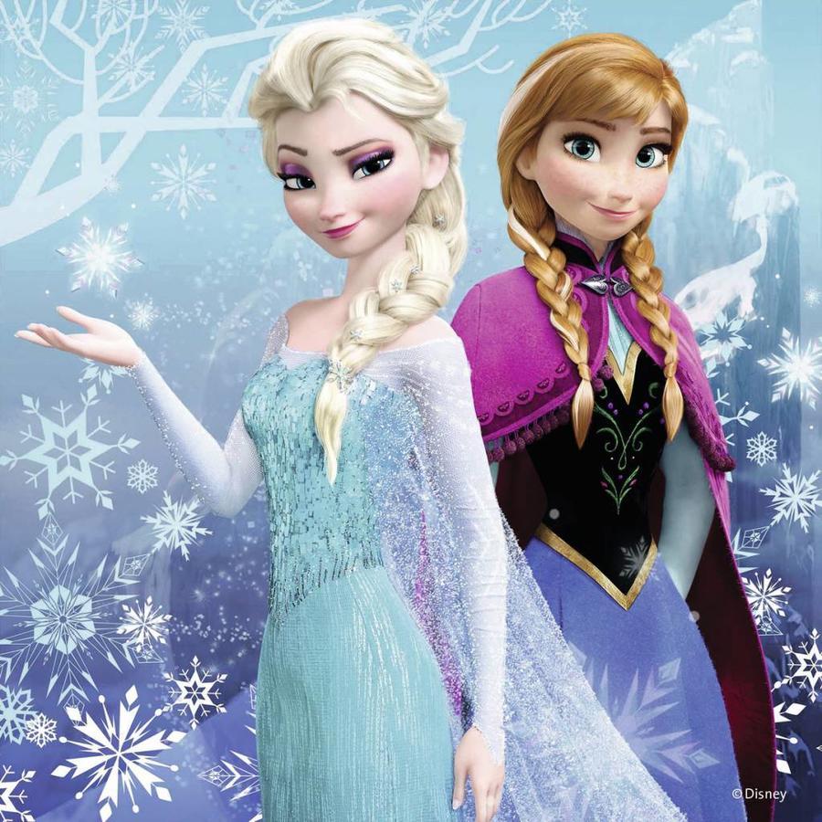 Frozen - winter adventure - 3 x 49 pieces-2