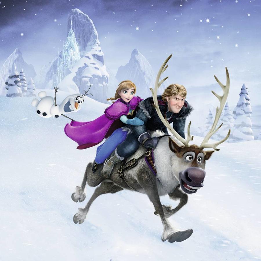 Frozen - winteravontuur - 3 x 49 stukjes-4