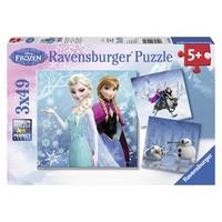 thumb-Frozen - winter adventure - 3 x 49 pieces-1