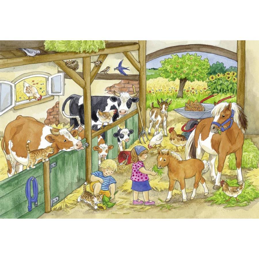 Vrolijk boerderijleven - 2 x 24 stukjes-2