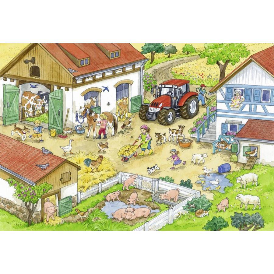 Vrolijk boerderijleven - 2 x 24 stukjes-3