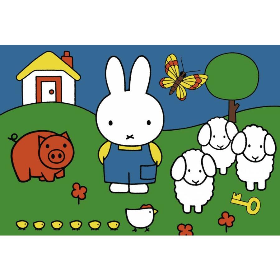 Miffy avec les animaux - 2 x 12 pièces-2