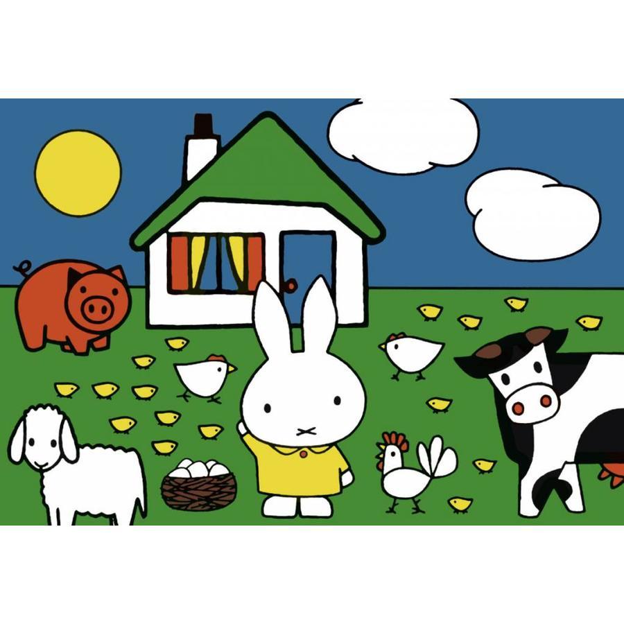 Miffy avec les animaux - 2 x 12 pièces-3