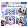 Ravensburger Frozen - 12+16+20+24 stukjes