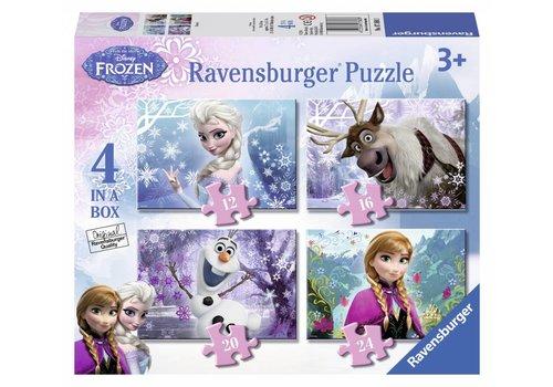 Frozen - 12+16+20+24 stukjes
