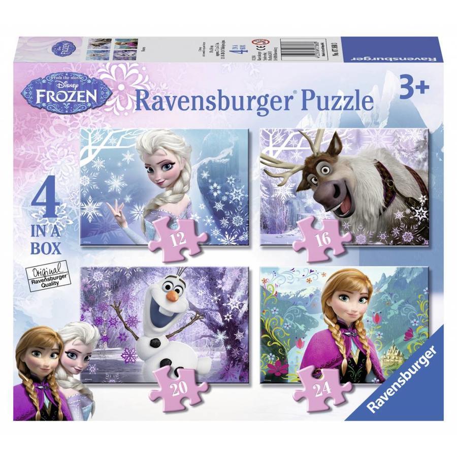Frozen - 12+16+20+24 stukjes-1