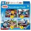 Ravensburger Thomas de Trein - 12+16+20+24 stukjes
