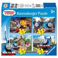 thumb-Thomas the Train - 12+16+20+24 pieces-1