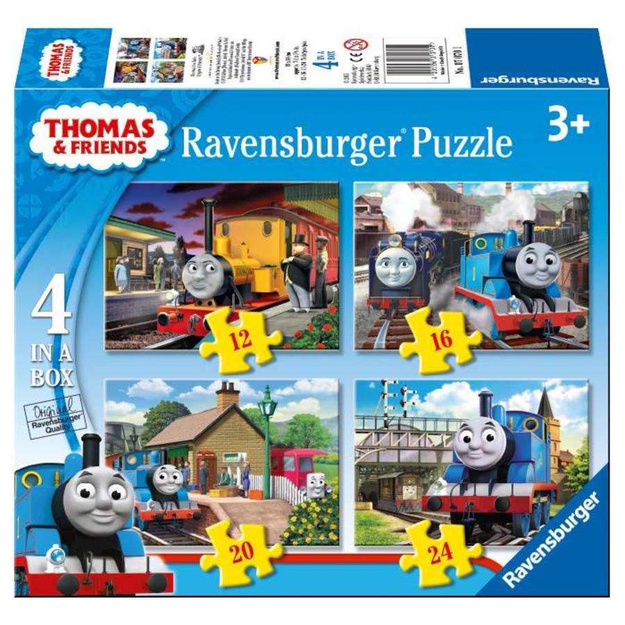 Thomas the Train - 12+16+20+24 pieces-1