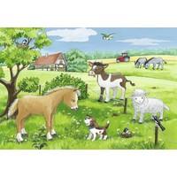 thumb-Jonge dieren op het platteland - 2 x 12 stukjes-2