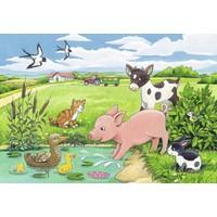 thumb-Jonge dieren op het platteland - 2 x 12 stukjes-3
