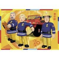 thumb-SAM pompier en action - 2 puzzles de 12 pièces-2