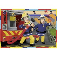 thumb-SAM pompier en action - 2 puzzles de 12 pièces-3