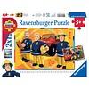 Ravensburger SAM pompier en action - 2 puzzles de 12 pièces