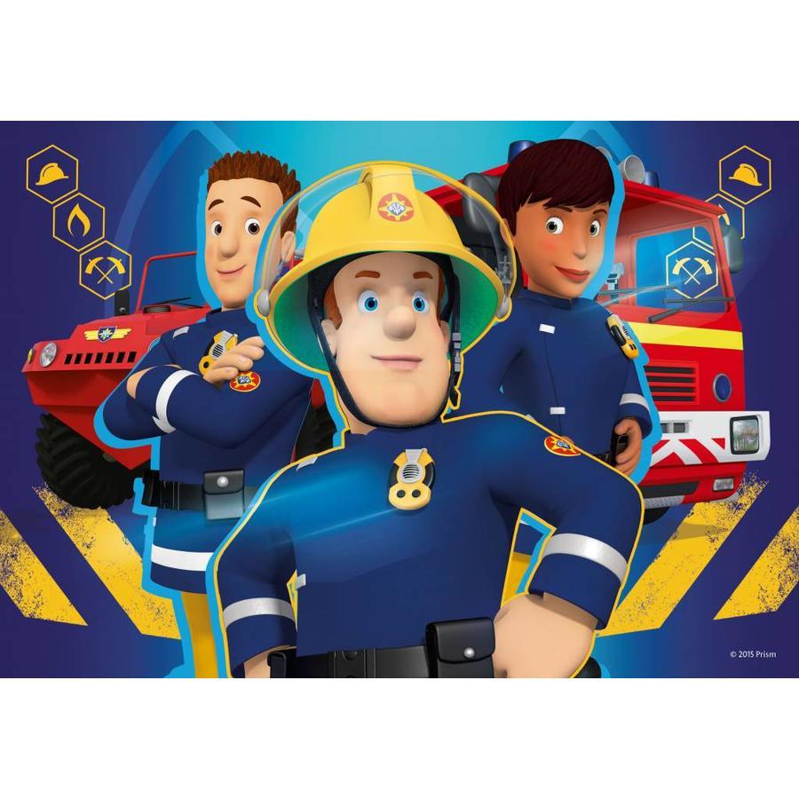 Brandweerman Sam helpt - 2 x 24 stukjes-3
