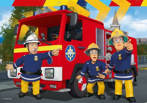 Fireman Sam helps - 2 x 24 pieces