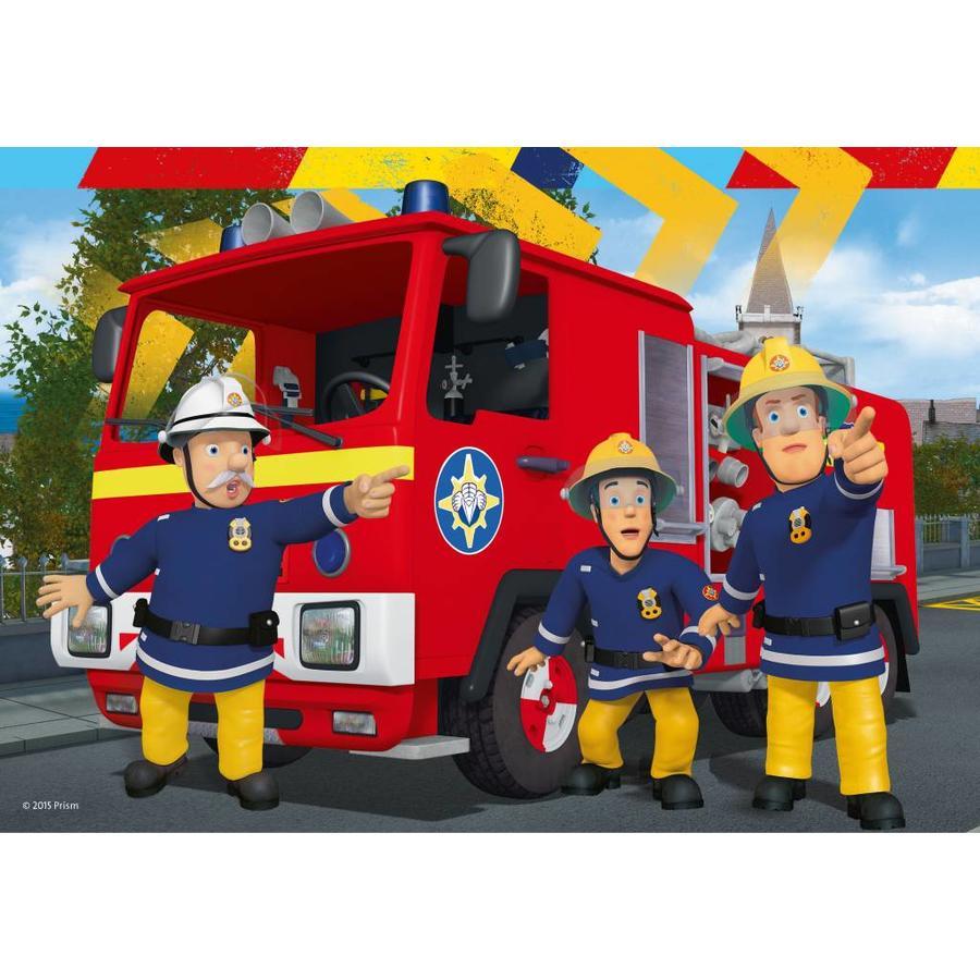 Brandweerman Sam helpt - 2 x 24 stukjes-1