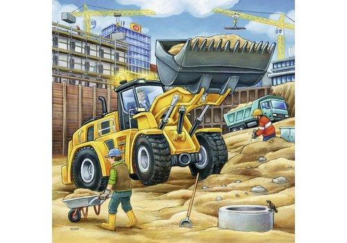 Ravensburger Construction vehicules - 3 x 49 pieces