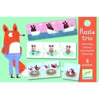 thumb-Puzzel trio - Verhaaltjes - 8 x 3 stukjes-1