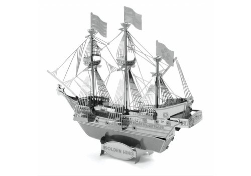 Metal Earth Golden Hind Galleon - 3D puzzle