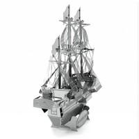 thumb-Driemaster Golden Hind - 3D puzzel-3