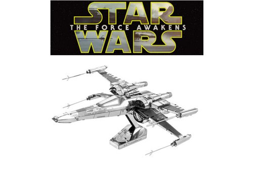 Metal Earth Poe Dameron's X-Wing Fighter - 3D puzzel