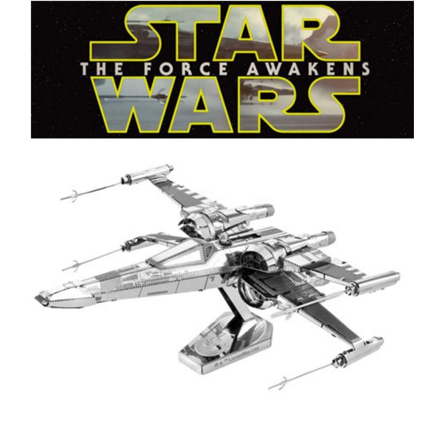 Poe Dameron's X-Wing Fighter - 3D puzzel-1