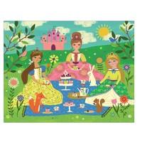 thumb-Op theekransje met prinsesjes - legpuzzel van 63 stukjes-2