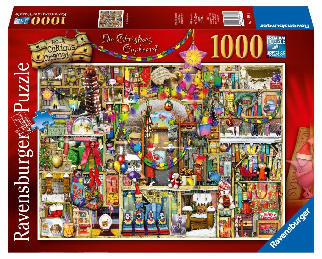De Kast Van Kerstmis 1000 Stukjes