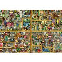 thumb-Magic bookcase - puzzle of 18000 pieces-2