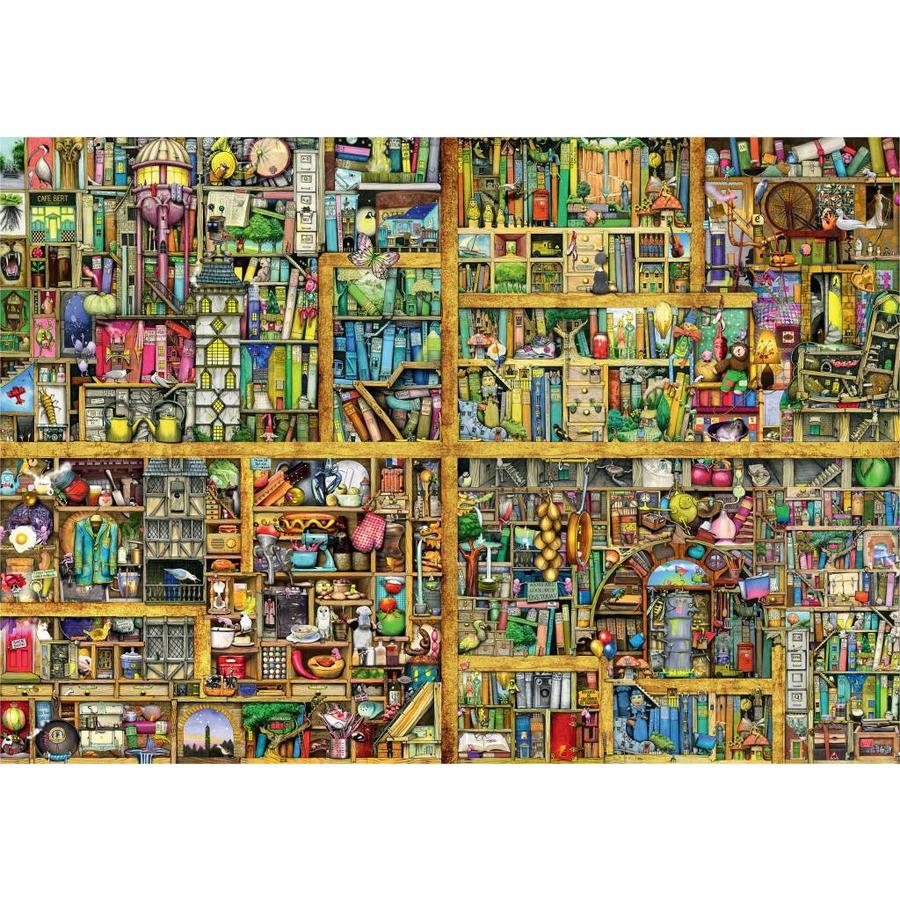Magic bookcase - puzzle of 18000 pieces-2