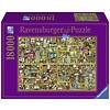Ravensburger Magic bookcase - puzzle of 18000 pieces