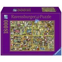 thumb-Magic bookcase - puzzle of 18000 pieces-1