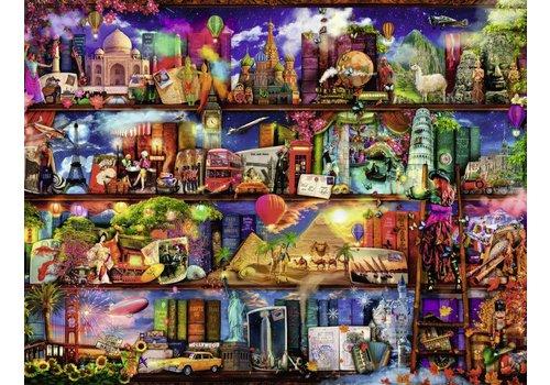 Wereld van de boeken - 2000 stukjes