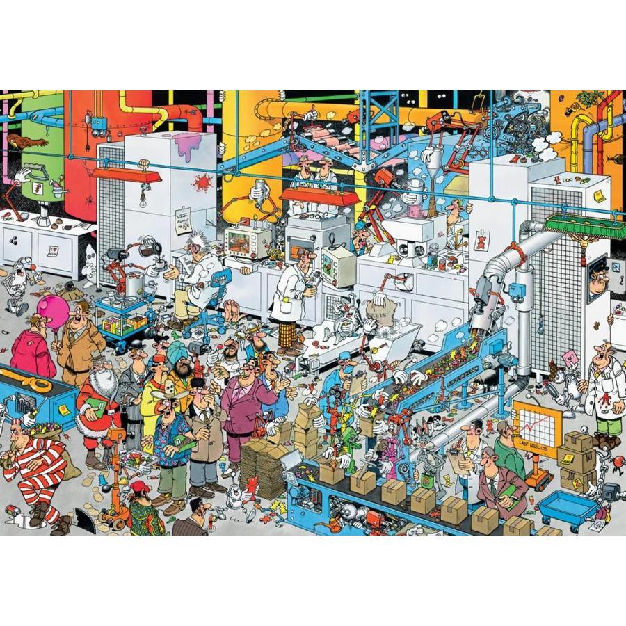 Candy Factory -  Jan van Haasteren - puzzle de 500 pièces-2